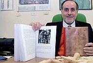 Il professor Giulio Fanti dell'università di Padova, considerato il maggior esperto della questione della Sindone (Bergamaschi)