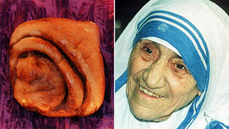 "Mother Teresa took exception to a Nashville diner selling ""nun bun"" merchandise"