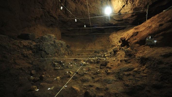 Mappatura in una delle aree in cui sono state trovate le misteriose sfere.