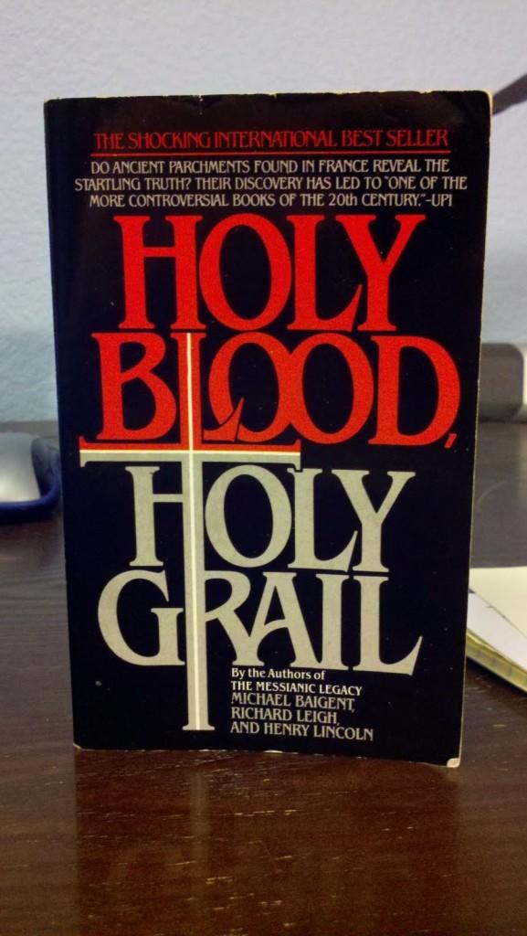 """The Holy Blood and the Holy Grail, 18 gennaio 1982, pubblicato in Italia da Mondadori con il titolo """"Il santo Graal""""."""