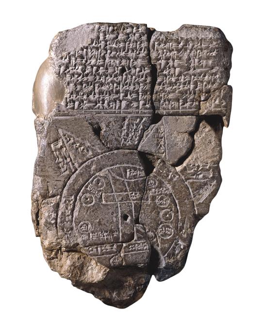 Mappa del Mondo (ca. 700-500 a.C.) - ME 92687