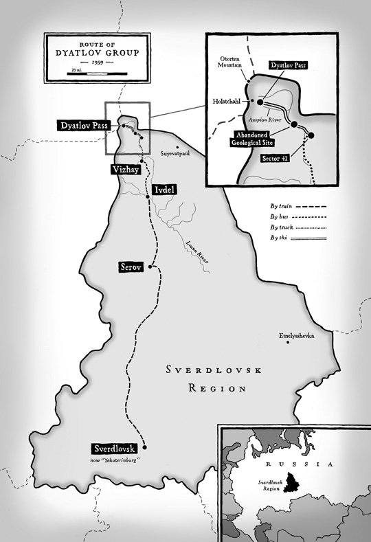 Mappa degli eventi.