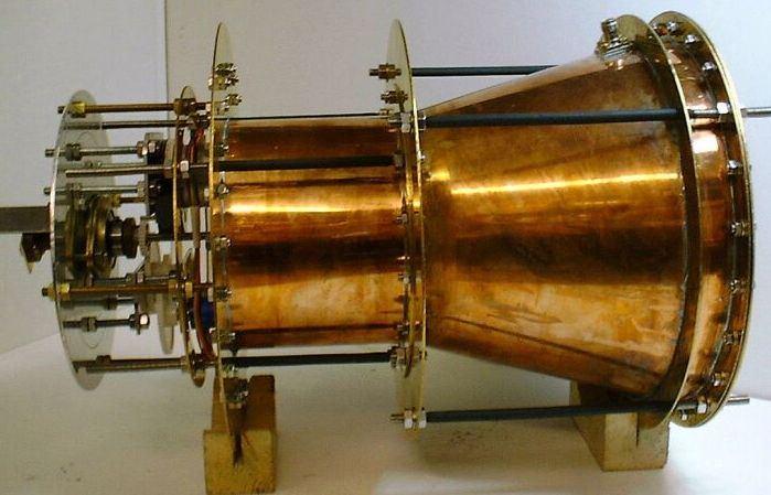 Il prototipo del motore EmDrive allo studio presso la NASA.