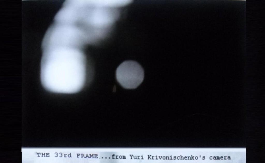 Ultima foto scattata da Igor Dyatlov in cui si vede nel cielo una sagoma luminosa.