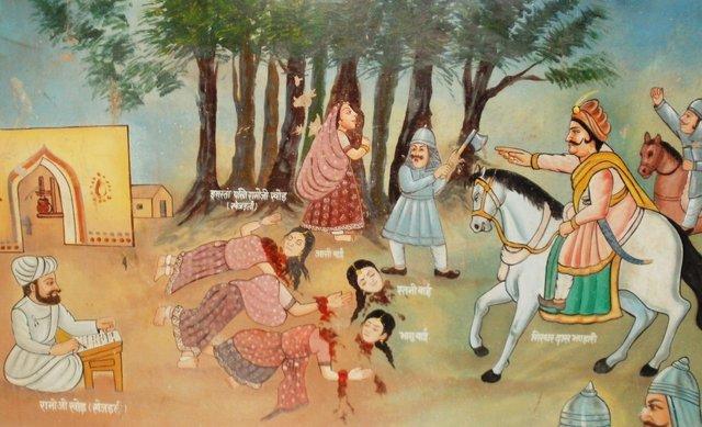 Il massacro di Khejarli